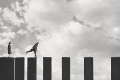 Lunivers décalé de Gilbert Garcin gilbert garcin montage 06 photographie art