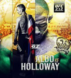 #FightDay #UFC212 credit: @GZdesignz #mma #ufc