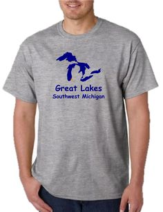 Unisex Heavy Weight Cotton T-Shirt (Gildan) - Great Lakes Southwest Michigan. Available In-Store & Online. Impress your friends with this awesome Great Lakes Southwest Michigant-shirt, printed in-store at our Watervliet, Michigan store. (Assembled in USA).Our unique printing process uses special ink and material that is soft, breathable and stretchable for better wash durability. We print and press each shirt order one at a time (no mass production here!), which makes each and every shirt…