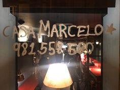 Restaurante Casa Marcelo - Samantha Vallejo-Nágera : Samantha Vallejo-Nágera Neon Signs, Tapas Bar, Santiago De Compostela, Houses, Restaurants, Creativity