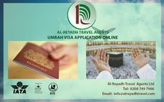 Apply for your Saudi Visa and travel support with Al-Reyadh. It is registered travel agents in UK. Get Visa application form for various Visa service online.