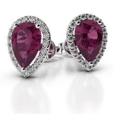 Gemstone Earrings : AG&SONS