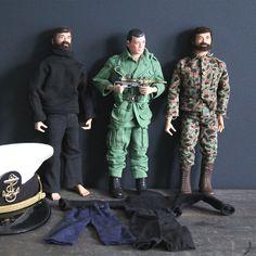 Remember these 1964 GI Joe Action Figures?