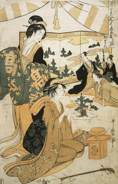 Kitagawa Utamaro (Japanese 喜多川 歌麿; c.1753 – 31 October 1806) 3
