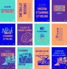 Operasjon Dagsverk - brand identity, guideline and assets. Graphisches Design, Creative Design, Logo Design, Brand Identity Design, Branding Design, Bfm Business, Comunity Manager, Feeds Instagram, Best Banner