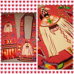 Matching bag and shawl by *Cheryl Iron*