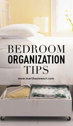 Bedroom Organization Tips | Martha Stewart Living