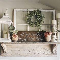 Do you love farmhouse style decor? It is one of my favorite styles for home desi. - Do you love farmhouse style decor? It is one of my favorite styles for home desi. Do you love farmhouse style decor? It is one of my favorite styles. Decor, Diy Rustic Decor, Farmhouse Shelves, Country Decor, Decor Styles, Home Decor, Farmhouse Style Decorating, Living Decor, Rustic House
