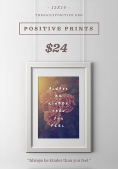 Cool print that supports charities fighting depression, anxiety, and suicide.