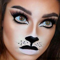0317f1c3f Las 20 mejores imágenes de maquillaje gato | Childrens makeup ...