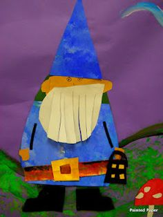 gnomes - turn into tech gnomes for classroom wall