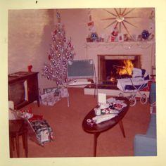 Christmas, 1962 ... I had a doll buggy like that!