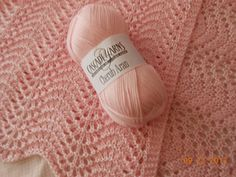 Elegant & Easy Old Shale Baby Blanket By MaryAnn Designs - Free Knitted Pattern - (ravelry)