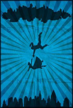 Bioshock Minimalist Poster by shrimpy99.deviantart.com on @DeviantArt