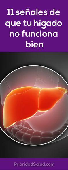11 señales de que tu hígado no está funcionando bien y que las toxinas se están acumulando en tu cuerpo. Algunos consejos para limpiar el hígado y mantenarlos en condiciones óptimas.