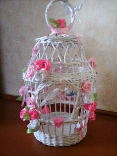 Все для свадьбы   Плетение из газет