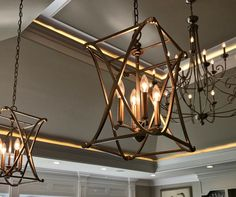 I thought this lighting contrasted very nicely in this space. What do you think?  #luxuryhome #realestate #lighting #kentucky #realtor #luxuryrealtor #remaxcollection