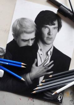 HOLY CRAP!! Look at this! Look at it!! <-- I don't ship Johnlock but this is fricking awesome!