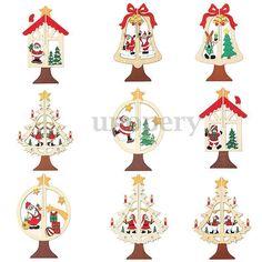 2,88+0 1 pc bell star christmas tree Natale Di Albero Ornamenti Babbo Renna Christmas Tree Decorazione Appendere
