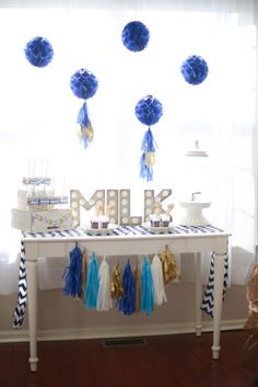 Boy's Sesame Street Cookie Monster Birthday Party Milk Bar Ideas
