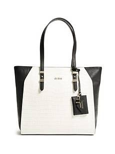 Gia Color-Blocked Tote | GUESS.com