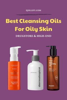 Best Cleansing Oil, Non Comedogenic Oils, Cleanser For Oily Skin, Waterproof Makeup, Best Oils, Rosehip Oil, Cleansers, The Balm, Routine