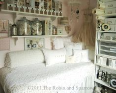 The Robin and Sparrow: Feathering My Studio Nest