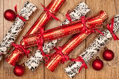 Christmas crackers for your holiday table