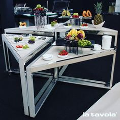 Create beautiful, multi-layer food presentation with Nesting Tables. Not only that, but you'll be saving a heck of a lot of space when it comes to storing them!  #TheArtOfPlating #FoodStyling #FoodPresentation #FoodArt #plating #gastroart #ChefArt #GourmetArt #GourmetArtistry #TastefullyArtistic #FoodStarz #ArtOfPresentation #TheArtOfPresentation #ShowCooking #CulinaryArt #CulinaryArts #FoodTrend #BeautifulCuisines #EdibleArt #DishOfTheDay #culinary #epicure #epicurious #epicurean…