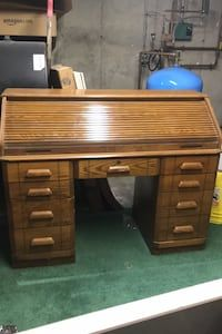 Used Roll Top Desk For Sale In Bridgewater Letgo In 2020 Sales Desk Desk Roll Top Desk