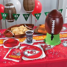 Kansas City Chiefs Tailgate Party Supplies