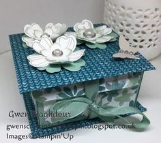 Gwen's Craftin and Stampin: Blooms and Bliss Keepsake Box
