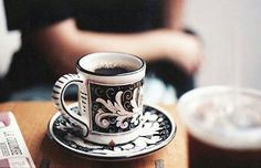 Arabic coffee - sabah al khair Coffee Corner, Coffee Time, Tea Time, Chocolates, Arabic Coffee, Coffee Blog, Pretty Mugs, Coffee Culture, Coffee And Books