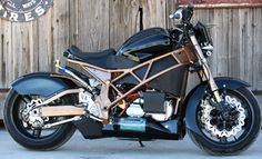Brutus Electric Motorcycle muscle e-bike