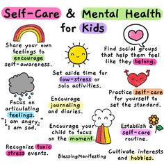 Self-Care for Kids