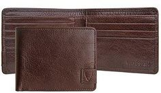 Hidesign Vespucci Rfid Blocking Buffalo Leather Slim Bifold Wallet.