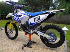 Kit deco Husqvarna 300TE  2014  http://www.eight-racing.com/fr/kits-deco-enduro/1295-kit-deco-husqvarna-2014.html