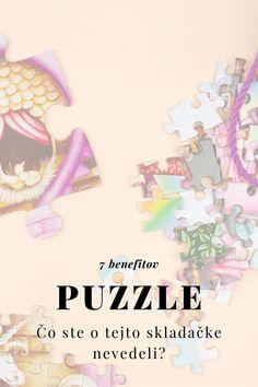 Prečo by sa aj vaša ratolesť mala hrať s puzzle?
