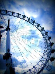 The London Eye , Londres !!