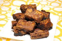 Biscoff Swirled Brownies by ItsJoelen, via Flickr