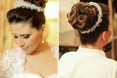 Uma das maiores preocupações de toda noiva com o casamento é o look que usará no dia. E isto inclui a escolha do penteado ideal. Escolher como quer que seu cabelo esteja no dia não é uma tarefa sim...