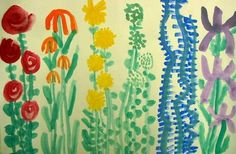 1st Grade flowers- planting a rainbow, Lois ehlert