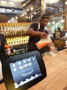 Wine-bar beer bar, Bistrot Centrale #CentralStation #Milan ©gloriavanni #LessIsSexy #Lifestyle #Food