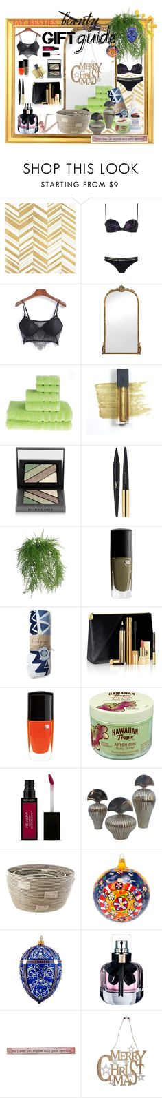 """#besties Beauty BY Sisk@ winter 2016"" by dominique-boiche ❤ liked on Polyvore featuring Home Decorators Collection, La Perla, Bite, Burberry, Yves Saint Laurent, Abigail Ahern, Lancôme, The Beach People, Hawaiian Tropic and Revlon"