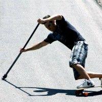 Land paddling, surfer le bitume avec un Kahuna Big Stick