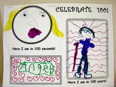 100s Day Printables for 1st grade