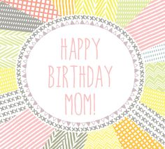 #Whatsapp this #birthday wish to your #mom on her special day with this #happybirthday #ecard.