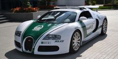 Ferrari FF, Mercedes-Benz SLS AMG, Bugatti Veyron - these are just a few supercars in Dubai's police car fleet. Check out all Dubai police supercars. Bugatti Veyron, Bugatti Cars, Porsche 918, Auto Motor Sport, Sport Cars, Lamborghini Aventador, Ferrari F40, Audi R8, Motosport