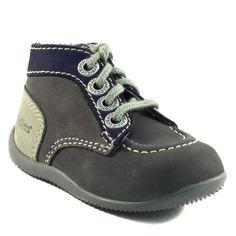 151A KICKERS BONBON GRIS www.ouistiti.shoes le spécialiste internet  #chaussures #bébé, #enfant, #fille, #garcon, #junior et #femme collection automne hiver 2016 2017