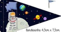 Caixinhas Astronauta - 1 Outer Space Party, Birthday Backdrop, Class Decoration, Sons Birthday, Sistema Solar, Origami, Diy And Crafts, Banner, Favours